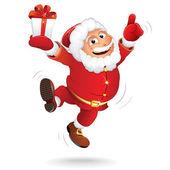 Cartoon Santa Clause — Stock Vector