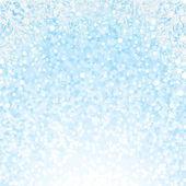 Fundo de flocos de neve de natal. de fundo vector — Vetorial Stock
