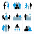 Royalty-Free Stock Imagem Vetorial: Business Icons. Vector Set
