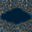 Stock Photo: Social MediIcons Cloud
