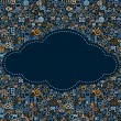 Social Media Icons Cloud — Stock Photo