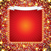 Festive Background with Fireworks — Stock Photo