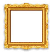 Gouden vintage frame — Stockfoto