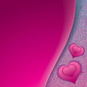 Pink Romantic Background — Stock Photo