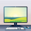 Generic Computer - Stock Photo