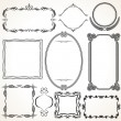 Stock Photo: Ornamental Frames. Design Elements