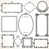 Ornamental Frames. Design Elements — Stock Photo