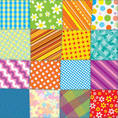 Seamless Quilt Pattern — 图库照片