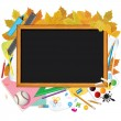 Back to School. Image with Free Space for Text — Stock Photo