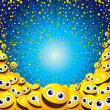 Stock Photo: Smiley Background
