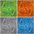 Stock Photo: Abstract Swirl Backgrounds.