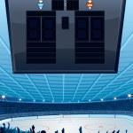 Ice Hockey Rink — Stock Photo