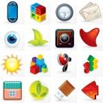 Different Design Symbols, Logos and Emblems. — Stock Photo #26198249