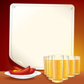 Tavern or Pub Poster Template — Stock Photo