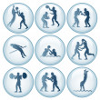 Olympic Sport Icons Set 2 — Stock Photo