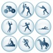Olympic Sport Icons Set 3 — Stock Photo