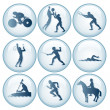 Olympic Sport Icons Set 3 — Stock Photo #27256179