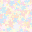 Pale Floral Pattern. Pastel Backdropfor for Design — Stock Photo