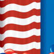 Stock Photo: USA Flag Theme