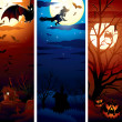 Vertical Halloween Banners — Stock Photo #27256877