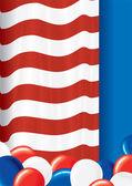 USA Flag Theme — Stock Photo