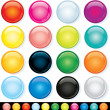 Buttons, Icons Template, Multicolored Elements — Stock Photo #27737301