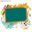 Back To School Background with Copyspace — Stock Photo