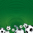 Abstract Soccer Background — Stock Photo