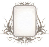 Gothic Style Frame Sign — Stock Photo