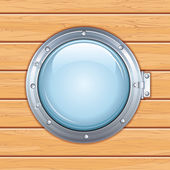Ship Window Porthole — Stock Photo