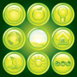 Ecology Icons — Stockfoto