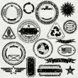 Grunge Rubber Stamps — Stock Photo #28502839