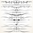 Ornamental Rule Lines in Different Design — Stock Photo #31110807