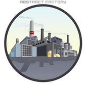 Illustration of Abstract Factory. — Stock Vector