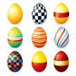 Painting Vector Eggs — Stock Photo #31426727