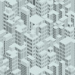 Stock Photo: City Pattern