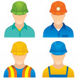 Worker Icons — Stock Photo