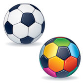 Vector Soccer Ball — Stock Vector