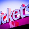 Tickets sign — Stock Photo #29201477