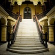 Colonial staircase at Archbishops Palace in LimPeru — Stock Photo #29202421