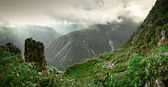 Colca Canyon in Peru - the deepest in the world — Stock Photo