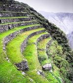Inca Trail to Machu Picchu in Peru — Stock Photo