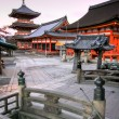 kiyomizu temple in kyoto japan — Stock Photo