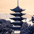 Five-storey pagoda in Miyajima, Japan — Foto de Stock