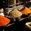 Spice market in Udaipur, India — Stock Photo