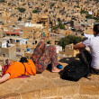View of Jaisalmer from fort — Foto de stock #29219999