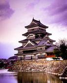Castillo de matsumoto, japón — Foto de Stock