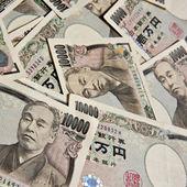 Japoński jen - 10.000 jenów notatki — Zdjęcie stockowe