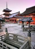 Kiyomizu Temple in Kyoto Japan — Stock Photo