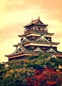 Hiroshima Castle, Japan — Stock Photo